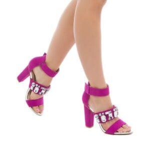 Shoedazzle NWOB Shari Heels